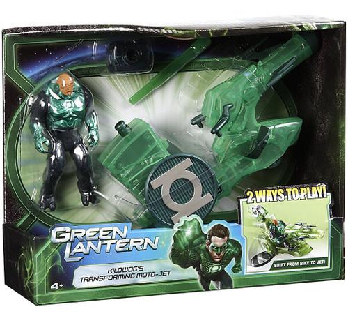 Green Lantern Movie Kilowog's Transforming Moto-Jet Action Figure Playset