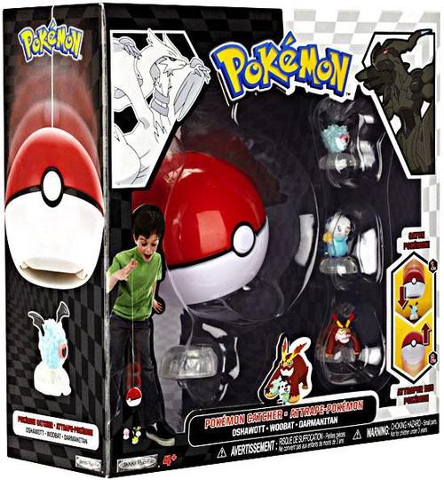 Pokemon Black & White Series 2 Catcher Woobat, Darmanitan & Oshawott Figure 3-Pack