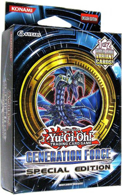 YuGiOh Trading Card Game Generation Force Special Edition [3 Booster Packs & Promo Card!]