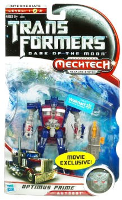 Transformers Dark of the Moon Mechtech Optimus Prime Exclusive Deluxe Action Figure