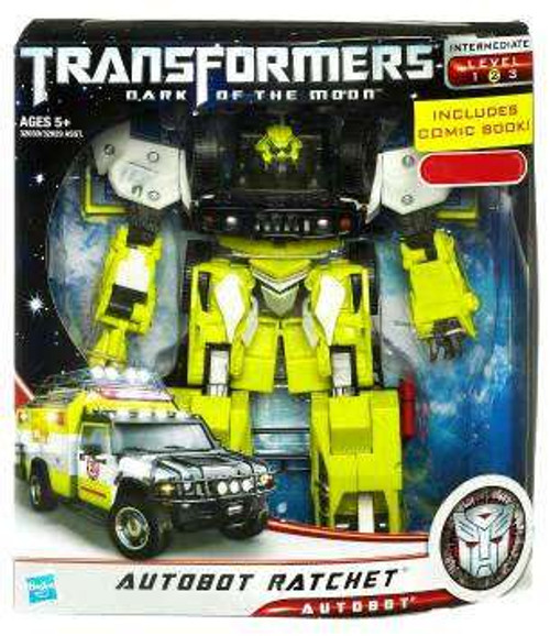 Transformers Dark of the Moon Autobot Ratchet Exclusive Voyager Action Figure