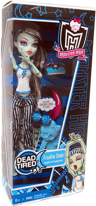 Monster High Dead Tired Frankie Stein 10.5-Inch Doll