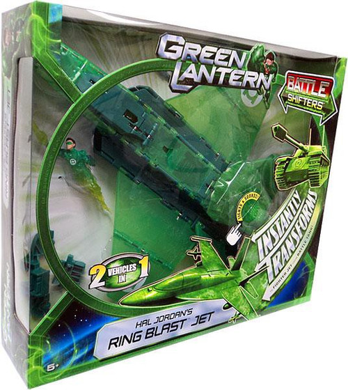 Green Lantern Movie Battle Shifters Hal Jordan's Ring Blast Jet Vehicle
