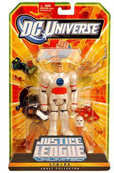 DC Justice League Unlimited Fan Collection S.T.R.I.P.E. Exclusive Action Figure