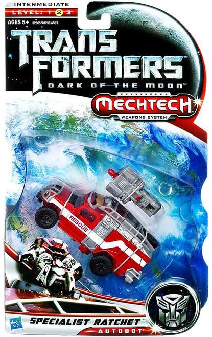 Transformers Dark of the Moon Mechtech Specialist Ratchet Deluxe Action Figure