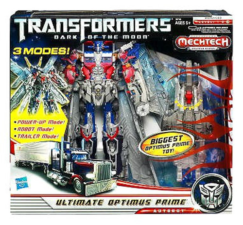 Transformers Dark of the Moon Mechtech Leader Ultimate Optimus Prime Leader Action Figure
