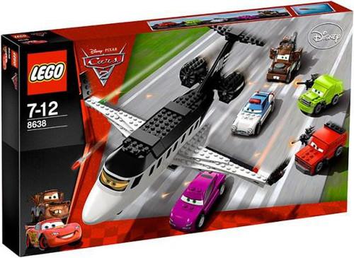 LEGO Disney / Pixar Cars Cars 2 Spy Jet Escape Set #8638