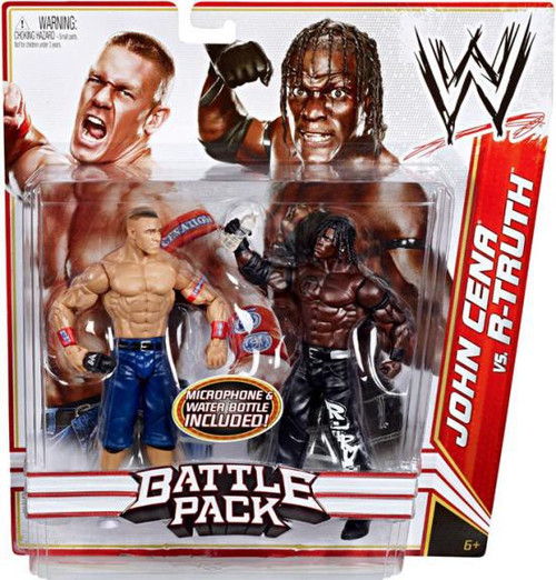 WWE Wrestling Battle Pack Series 13 John Cena vs. R-Truth Action Figure 2-Pack