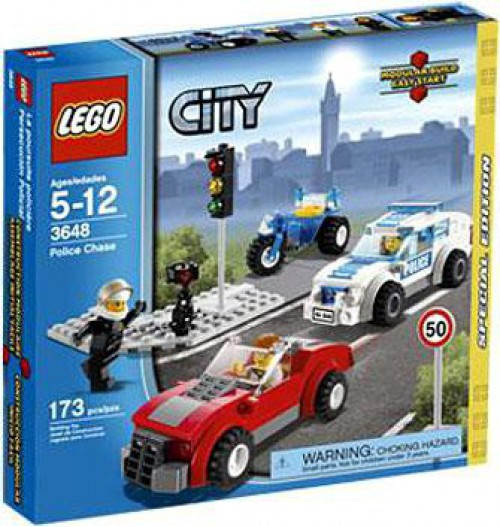 LEGO City Police Chase Exclusive Set #3648