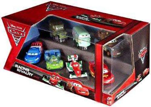 Disney / Pixar Cars Cars 2 Multi-Packs Racing Rivalry 7-Pack Exclusive Diecast Car Set