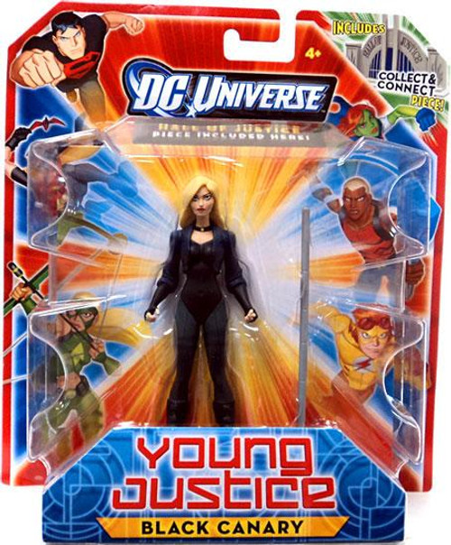 DC Universe Young Justice Black Canary Action Figure