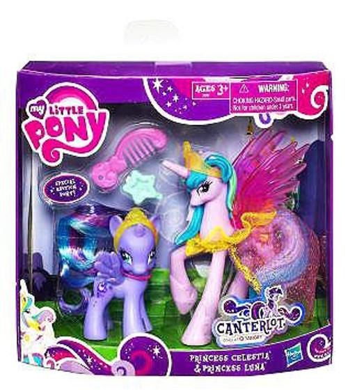 My Little Pony Canterlot Princess Celestia & Princess Luna Exclusive Figure 2-Pack