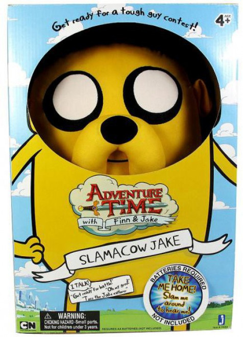 Adventure Time Slamacow Jake 20-Inch Plush