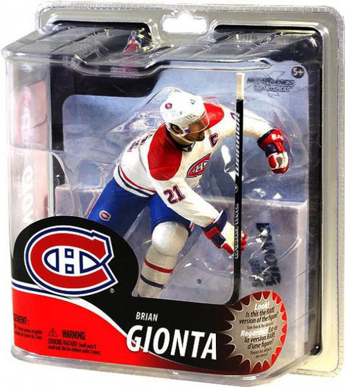 McFarlane Toys NHL Montreal Canadiens Sports Picks Series 30 Brian Gionta Action Figure