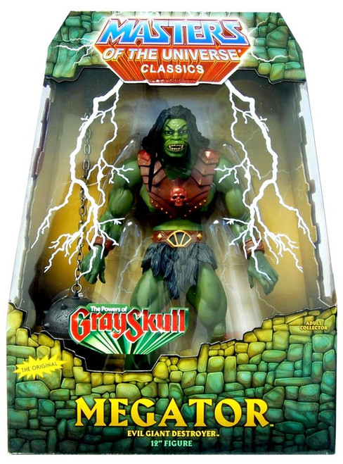 Masters of the Universe Classics Club Eternia Megator Exclusive Deluxe Action Figure [The Power of Gray Skull]