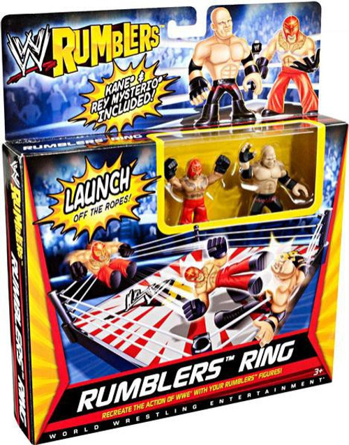 WWE Wrestling Rumblers Series 1 Rumblers Ring Mini Figure Playset