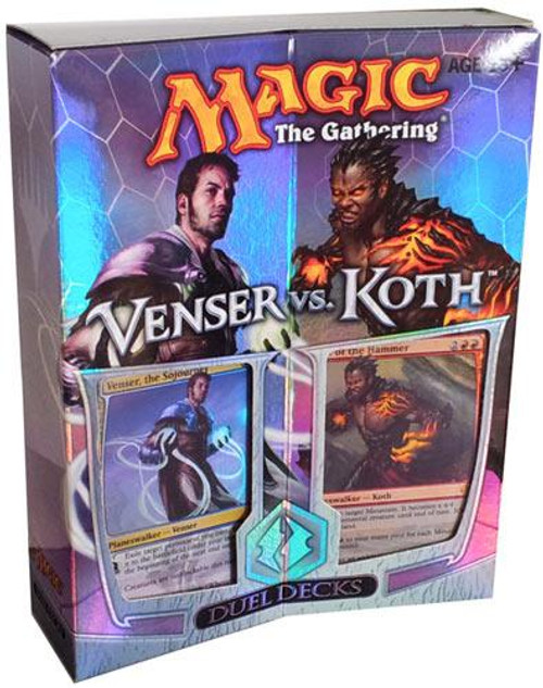 MtG Trading Card Game Venser vs. Koth Duel Decks