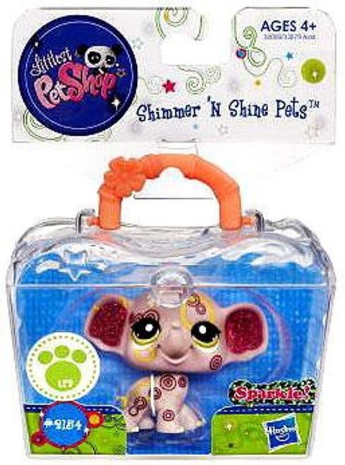 Littlest Pet Shop Shimmer N Shine Pets Elephant Figure #2154