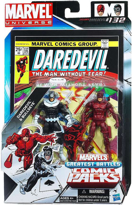 Marvel Universe Bullseye & Daredevil Action Figure 2-Pack