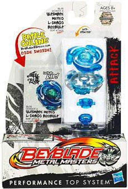 Beyblade Metal Masters Ultimate Meteo L-Drago Assault Single Pack BB-98