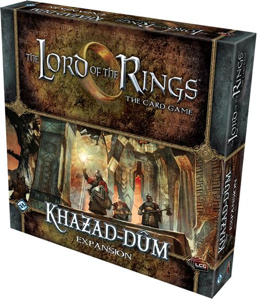 The Lord of the Rings The Card Game Lord of the Rings LCG Khazad-dum Deluxe Expansion