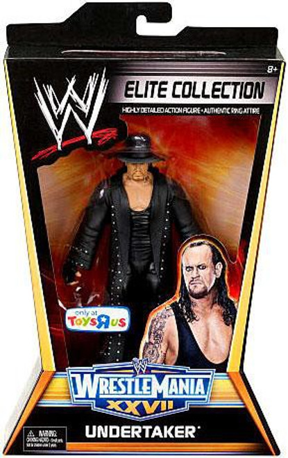 WWE Wrestling Elite Collection WrestleMania 27 Undertaker Exclusive Action Figure