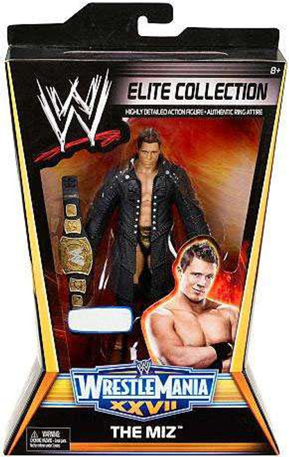 WWE Wrestling Elite Collection WrestleMania 27 The Miz Exclusive Action Figure
