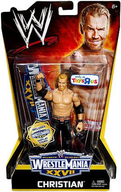 WWE Wrestling WrestleMania 27 Christian Exclusive Action Figure