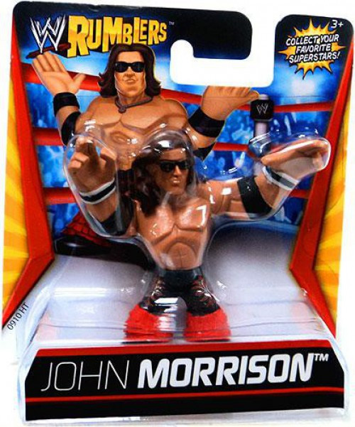 WWE Wrestling Rumblers Series 1 John Morrison Mini Figure