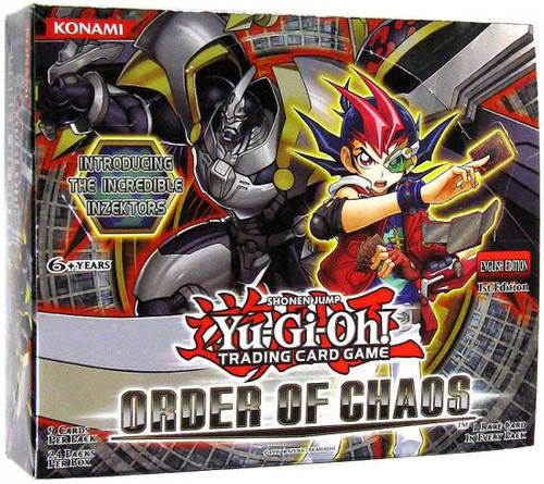 YuGiOh Trading Card Game Order of Chaos Booster Box [24 Packs]