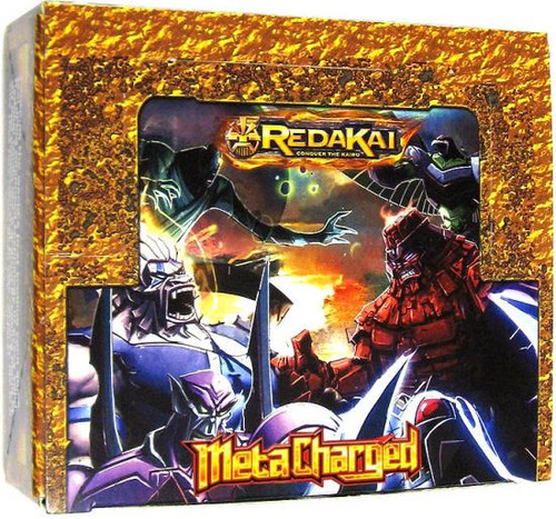 Redakai Conquer the Kairu MetaCharged Gold Booster HOBBY Box [24 Packs]