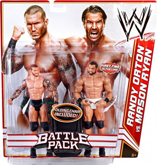 WWE Wrestling Battle Pack Series 14 Randy Orton & Mason Ryan Action Figure 2-Pack