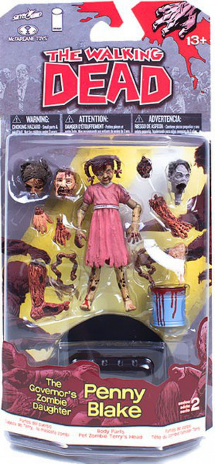 McFarlane Toys The Walking Dead Comic Series 2 Penny Blake Action Figure [The Governor's Zombie Daughter]
