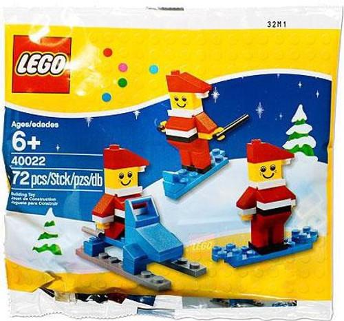 LEGO Santa 3-Pack Mini Set #40022 [Bagged]