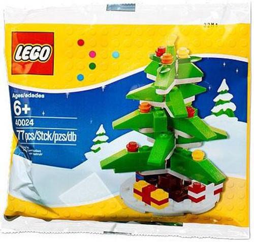 LEGO 2011 Christmas Tree Mini Set #40024 [Bagged]