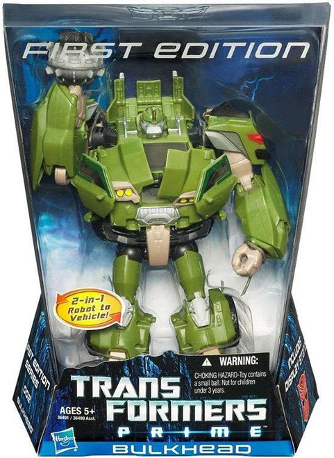 Transformers Prime First Edition Voyager Bulkhead Voyager Action Figure