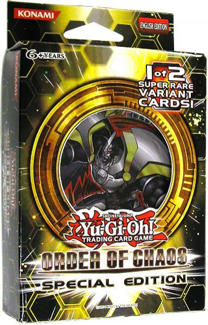 YuGiOh Trading Card Game Order of Chaos Special Edition
