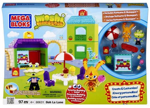 Mega Bloks Moshi Monsters Ooh La Lane Set #80631