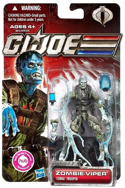 GI Joe 30th Anniversary Zombie Viper Action Figure