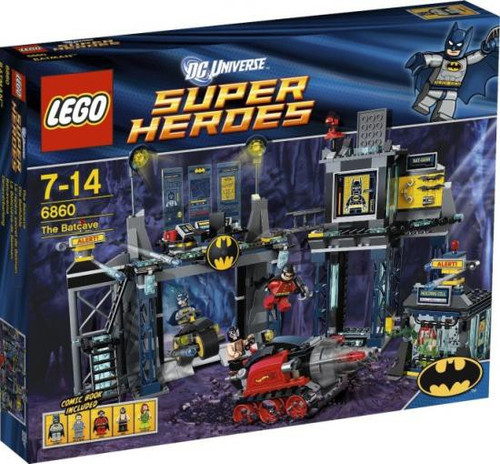 LEGO DC Universe Super Heroes The Batcave Set #6860