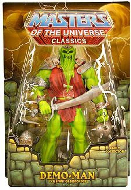 Masters of the Universe Classics Club Eternia Demo-Man Exclusive Action Figure