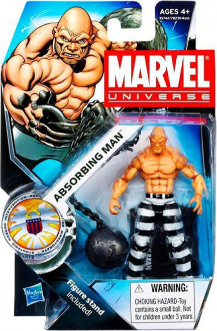 Marvel Universe Series 16 Absorbing Man Action Figure #24 [Striped Pants]