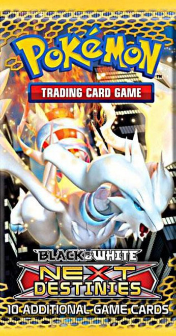 Pokemon Trading Card Game Black & White Next Destinies Booster Pack [10 Cards]