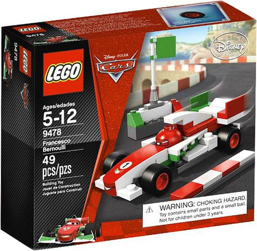 LEGO Disney / Pixar Cars Francesco Bernoulli Set #9478