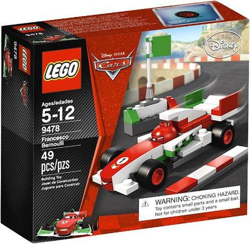 LEGO Disney / Pixar Cars Francesco Bernoulli Set #9478