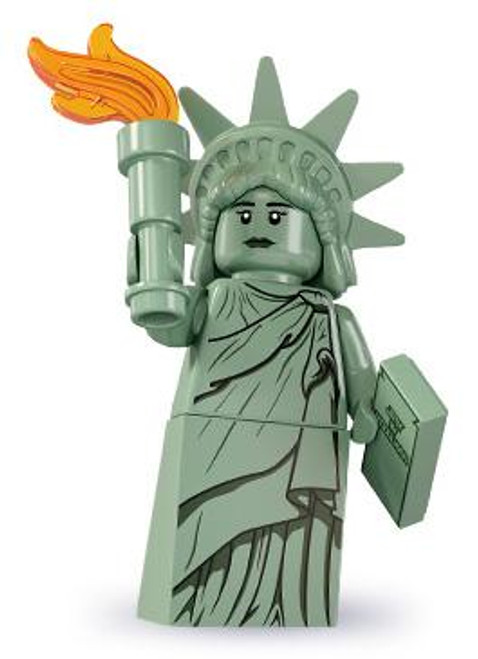 LEGO Minifigures Series 6 Lady Liberty Minifigure [Loose]
