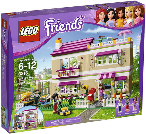 LEGO Friends Olivia's House Set #3315