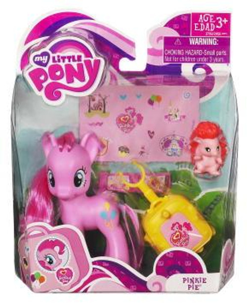 My Little Pony Basic Figures Pinkie Pie Figure #37061 [With Suitcase]
