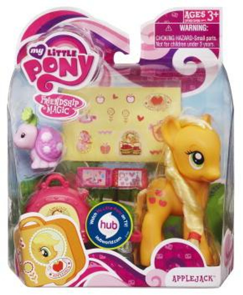 My Little Pony Friendship is Magic Basic Figures Applejack Figure #37065 [With Suitcase]