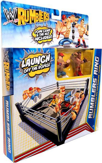WWE Wrestling Rumblers Series 2 Rumblers Ring Mini Figure Playset